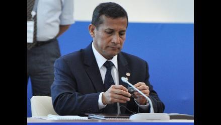 Ipsos: aprobación de Humala baja cuatro puntos tras dos meses de ascenso