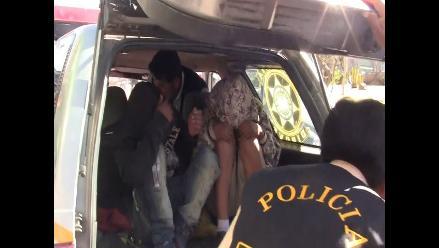 Tres menores de edad con armas fueron detenidos en Polvos Azules