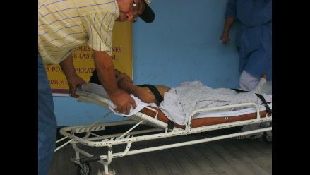 La Oroya: un muerto y tres heridos por desprendimiento de llanta