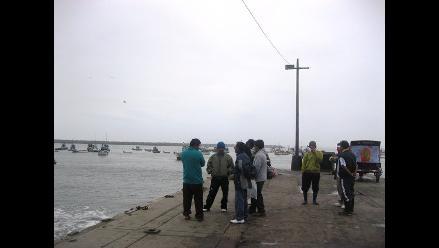 Trujillo: Puerto de Salaverry cerrado por fuertes oleajes