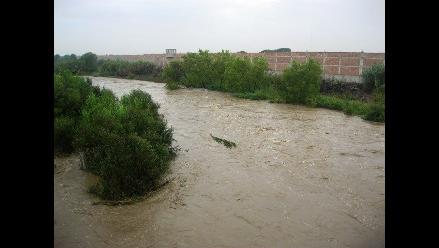 Trujillo: 60 viviendas en peligro por cauce del río Moche colmatado
