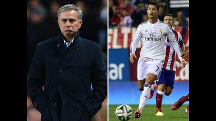 Mourinho criticó a Ronaldo por fallar penal en Champions de 2012