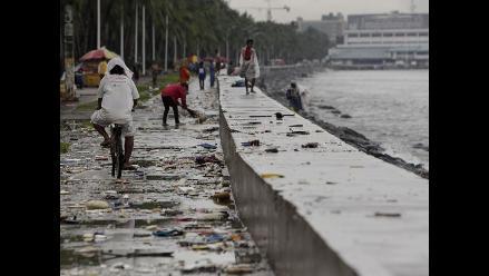 Así se ve Filipinas tras el paso del tifón Kalmaegi