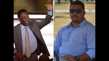 Ronaldo enfrentado con Pelé por el racismo del fútbol brasileño