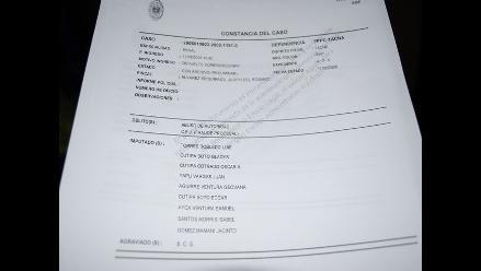 Tacna: candidatos tienen denuncias pendientes en la Fiscalía