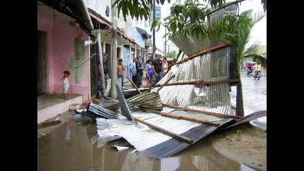 Junín: fuertes vientos dejan a cuatro familias damnificadas