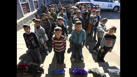 ONU denuncia que el EI adoctrina niños en Siria y los usa como soldados