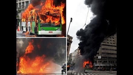Brasil: violentos enfrentamientos por desalojo de edificio