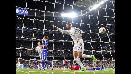 Real Madrid 5-1 Basilea: Merengues golean en su debut en la Champions