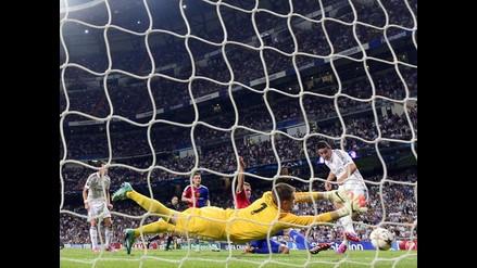 James Rodríguez feliz por su actuación en el Real Madrid vs. Basilea