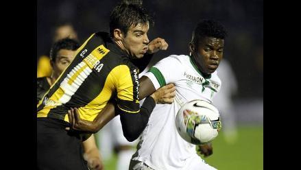 Copa Sudamericana: Peñarol y Deportivo Cali empataron 2-2 en Uruguay