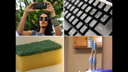 ¡Más sucios que un inodoro!: 8 cosas que tienen muchos gérmenes