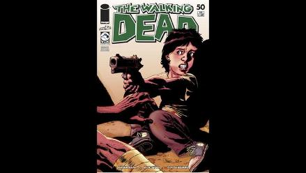 Cómic The Walking Dead llega a su edición 50 en Perú