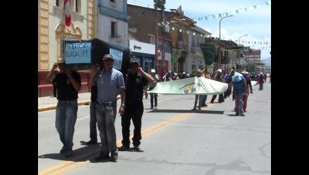 Huancayo: trabajadores de Serpost acatan segundo día de huelga