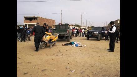 Trujillo: mujer muere aplastada por volquete cargado de arena