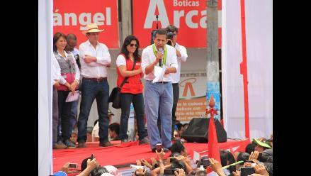 Rioja: Ollanta Humala participa en Consejo de Ministros Descentralizado
