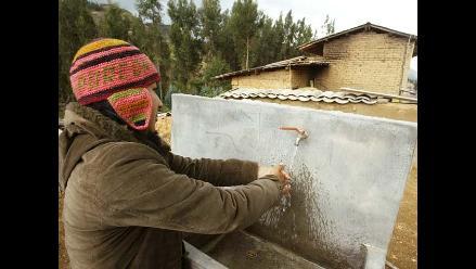 Aumentan los hogares rurales con agua por red pública
