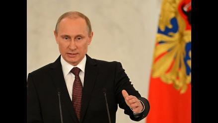 Vladimir Putin acusa a Occidente de ignorar las reglas de la OMC