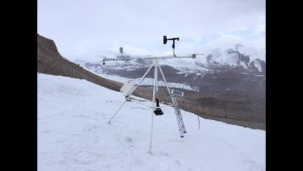 Instalan estación meteorológica más alta de América en Arequipa