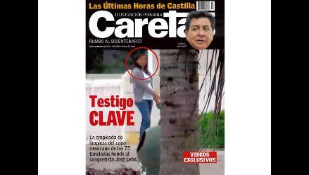 Confesión de testigo clave complica a José León