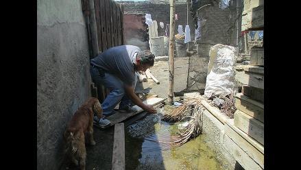 Chimbote: empresa construye edificio sobre dren de regadío