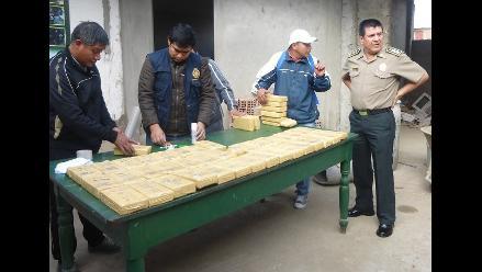 Chiclayo: cocaína decomisada en camioneta aún no es trasladada a Lima