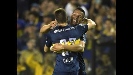 Boca Juniors goleó 3-0 a Rosario Central y avanza en la Sudamericana
