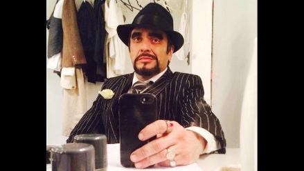 Lucho Cáceres se rompe clavícula en escenario teatral