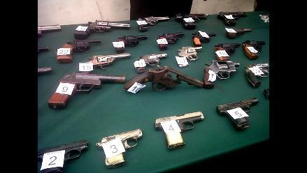 Sucamec incauta 200 armas de fuego en La Libertad