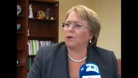 Michelle Bachelet: ´No hay excusas para causar daño´ con el terrorismo