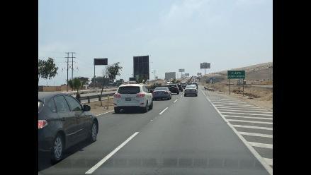 Este fin de semana se restringirá el tránsito en la Panamericana Sur