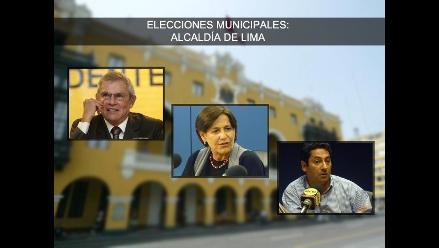El panorama electoral en Lima a dos semanas de las elecciones