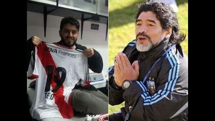 Diego Maradona se hizo socio de River Plate