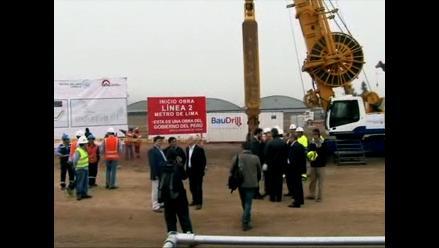 Suspenden inauguración de obras de línea 2 del Metro de Lima