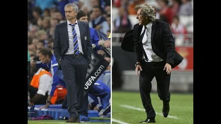 José Mourinho prende duelo verbal con Jorge Jesús, técnico del Benfica