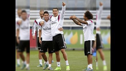 Cristiano Ronaldo y James Rodríguez se