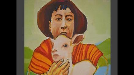 Oshta y el Duende, un mural sobre el clásico cuento de Carlota Carvallo