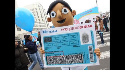 EsSalud realiza campaña para promover donación de órganos y tejidos