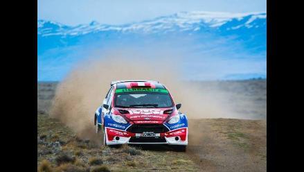 Nicolás Fuchs abandonó en la primera etapa de Rally de El Calafate