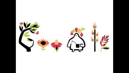 Google vive la primavera con doodle interactivo