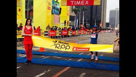 Maratón RPP Scotiabank 2014: Chips marcaron tiempo oficial de corredores