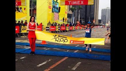Karina Villasana fue la triunfadora de la 10K en Maratón RPP Scotiabank