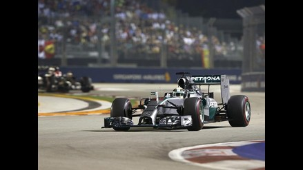 GP de Singapur: Lewis Hamilton venció y es el nuevo líder mundial de F1