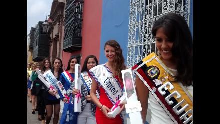 Trujillo: 7 reinas internacionales participan en Festival de la Primavera