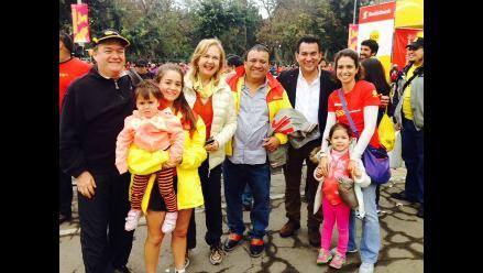 Familia Delgado Nachtigall asistió a Gran Maratón RPP Scotiabank