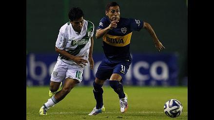 Banfield le empató sobre la hora a Boca Juniors en la Liga Argentina