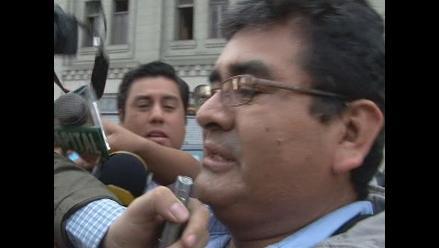 Chimbote: César Álvarez denuncia que quieren secuestrar a sus hijos