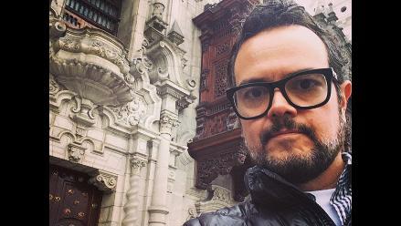 Aleks Syntek paseó por las calles del Centro de Lima