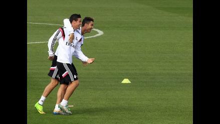 Real Madrid: Cristiano avisó a la prensa que se llevaba a James a su círculo