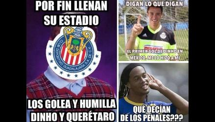 Ronaldinho en Querétaro: Mira los memes que dejó su primer gol en México